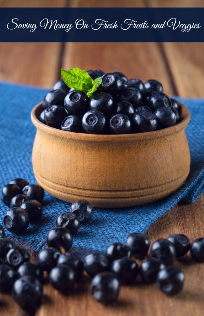 saving money on fresh fruits and veggies