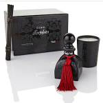 d.l. & Company Glass Forsaken candle and diffuser set