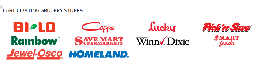 gas rewards card participating grocery stores