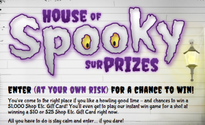 house of spooky prizes