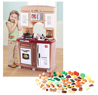 Step2 Lifestyle Fresh Accents Kitchen And Play Food Set Only 69
