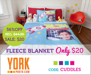 york fleece blanket