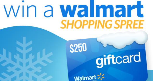 $250 walmart gift card