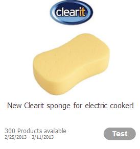 clearit sponge