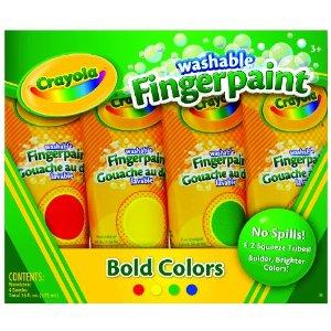 crayola fingerpaint