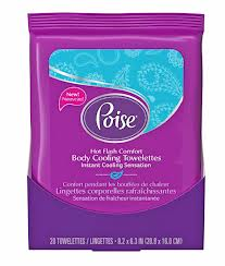 poise wipes