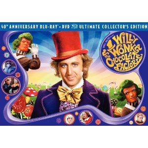 willy wonka dvd combo
