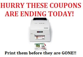 Coupons ENDING