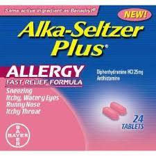 Alka-Seltzer Plus Allergy