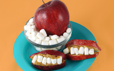 Apple-Marshmallow-Smiles