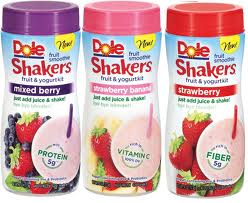 Dole Smoothie Shakers