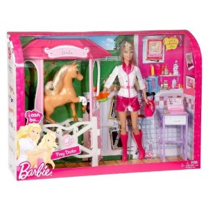 barbie pony doctor