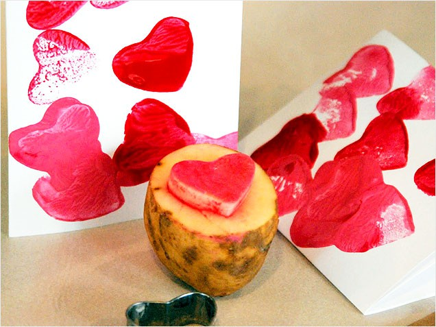 v day potato-heart-stamp-636