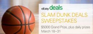 ebay daily deals slam dunk