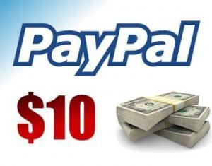 $10 paypal cash