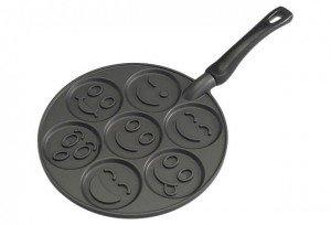 smily face pancake pan