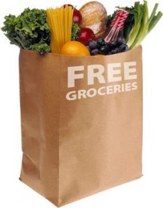 free groceries