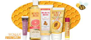 womans freebies burts bees