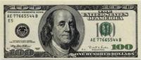 $100 cash