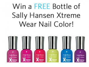 womans freebies sally hanson nail polish