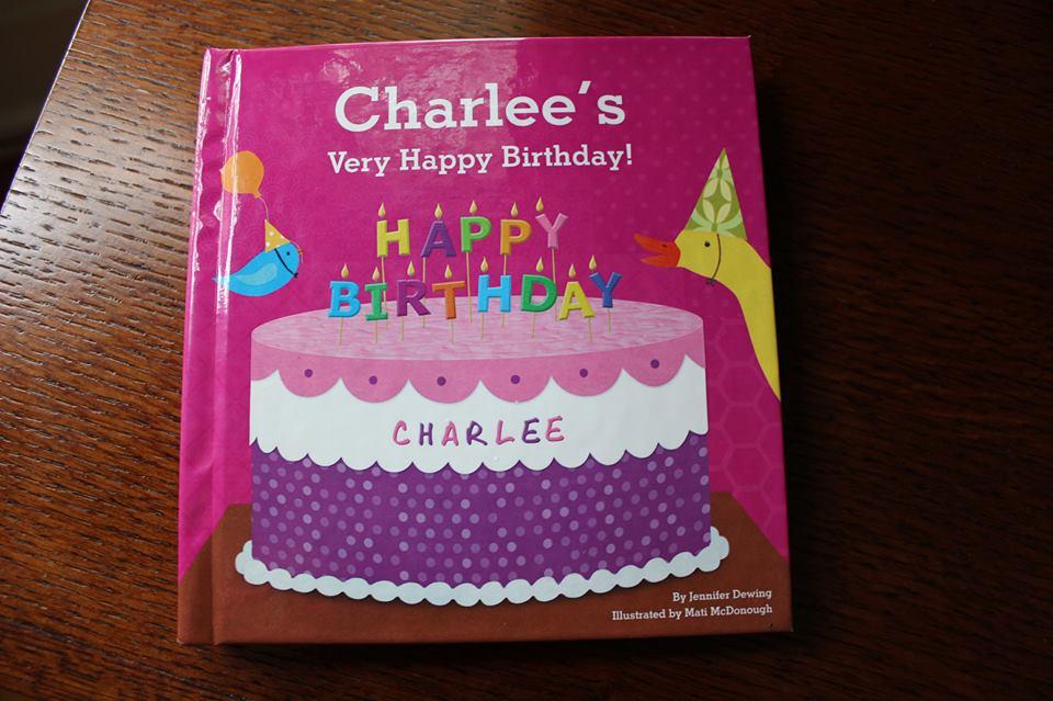Charlee's b-day book