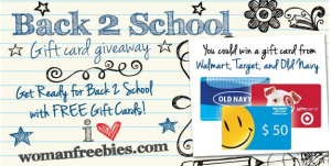 womans freebies back to school