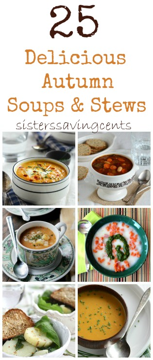 25 autumn soups and stews