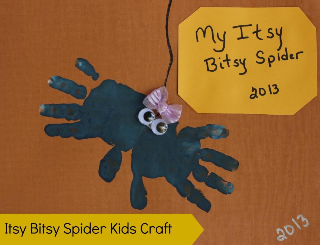 itsy bitsy spider kids craft final
