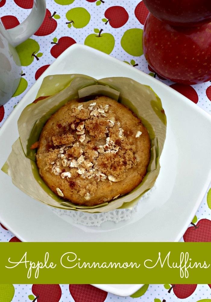 apple cinnamon muffin 1