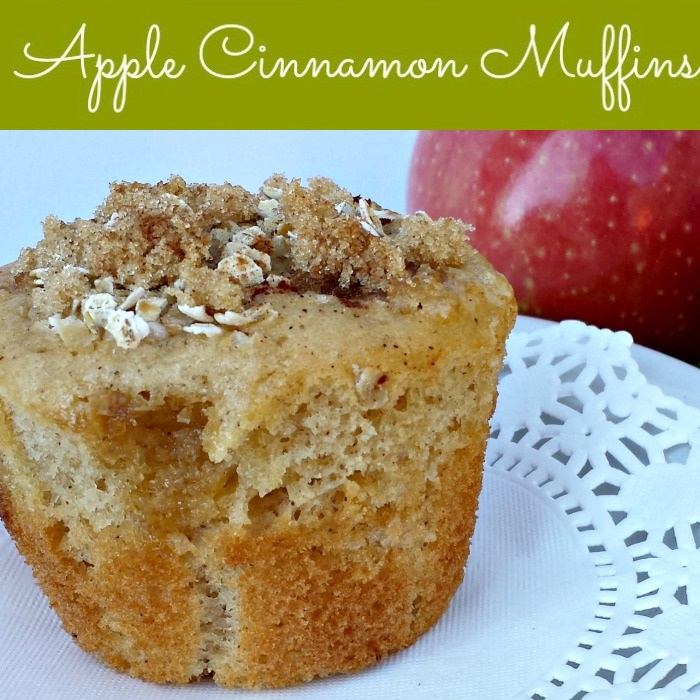 apple cinnamon muffins 2