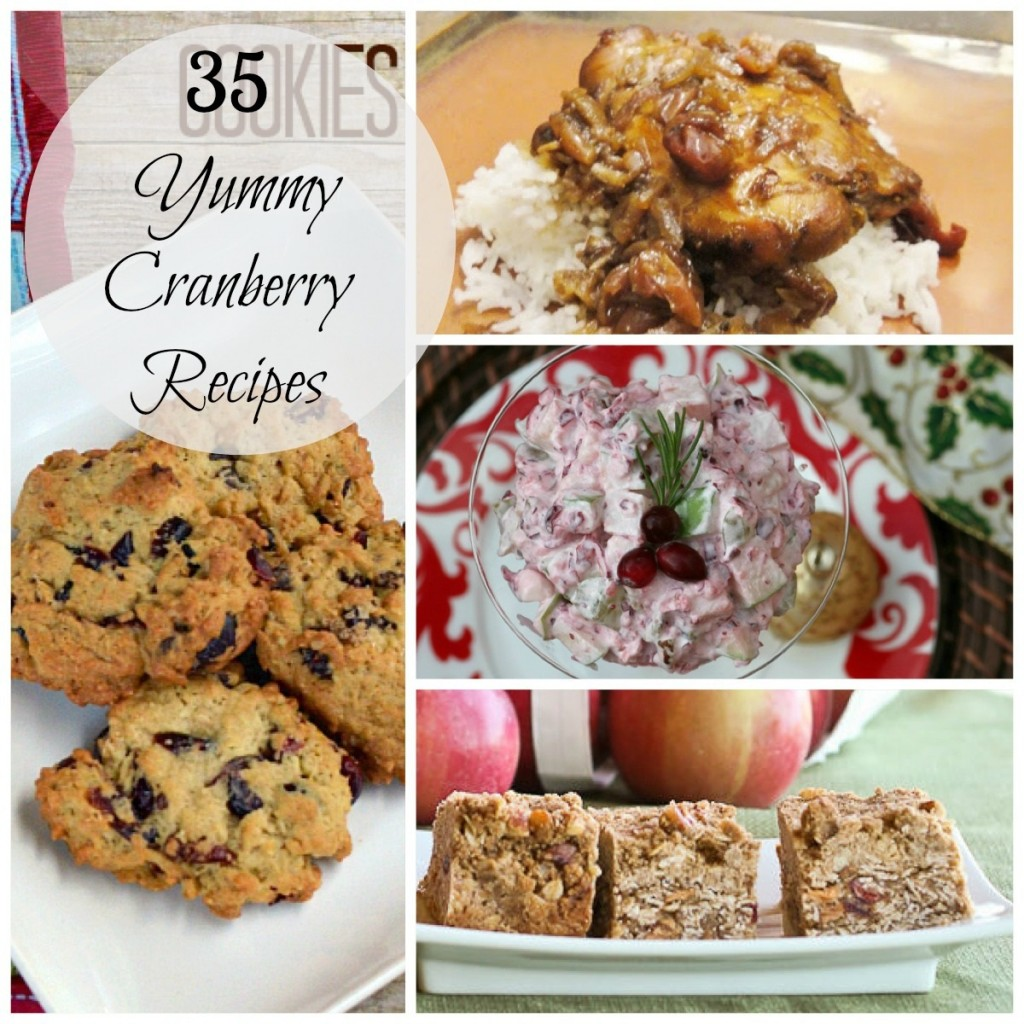 35 Yummy Cranberry Recipes