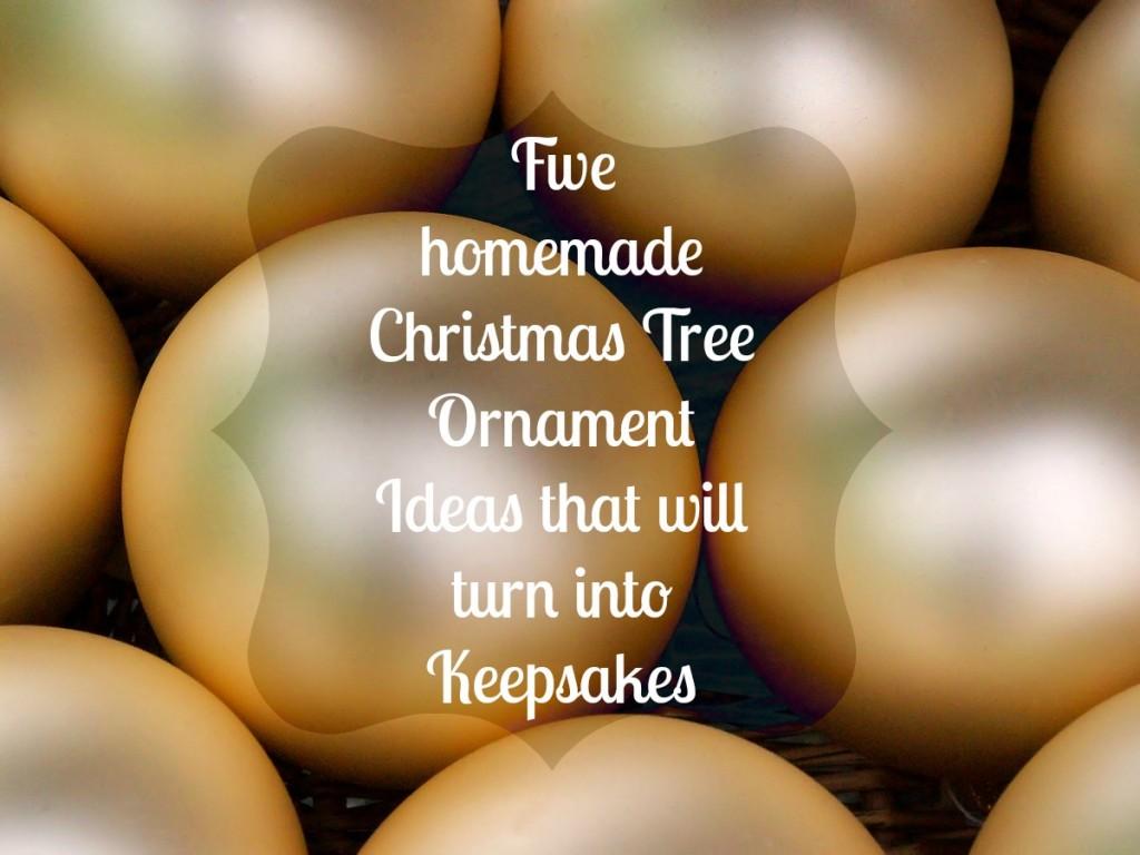5 homemade ornament ideas