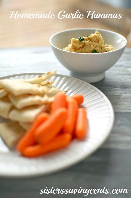 garlic hummus title