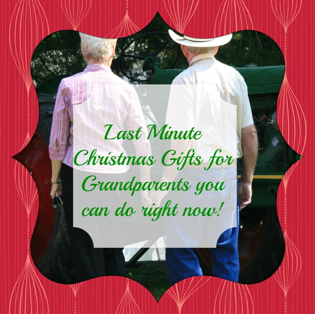 Homemade Christmas Gifts For Grandpa: Last Minute Christmas Gifts For Grandparents You Can Do