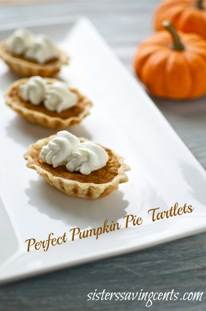 pumpkin pie tartlests