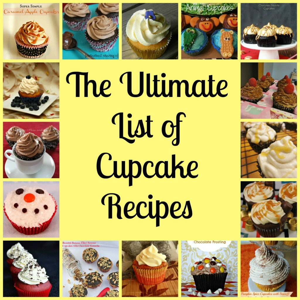 the ultimate cupcake round up