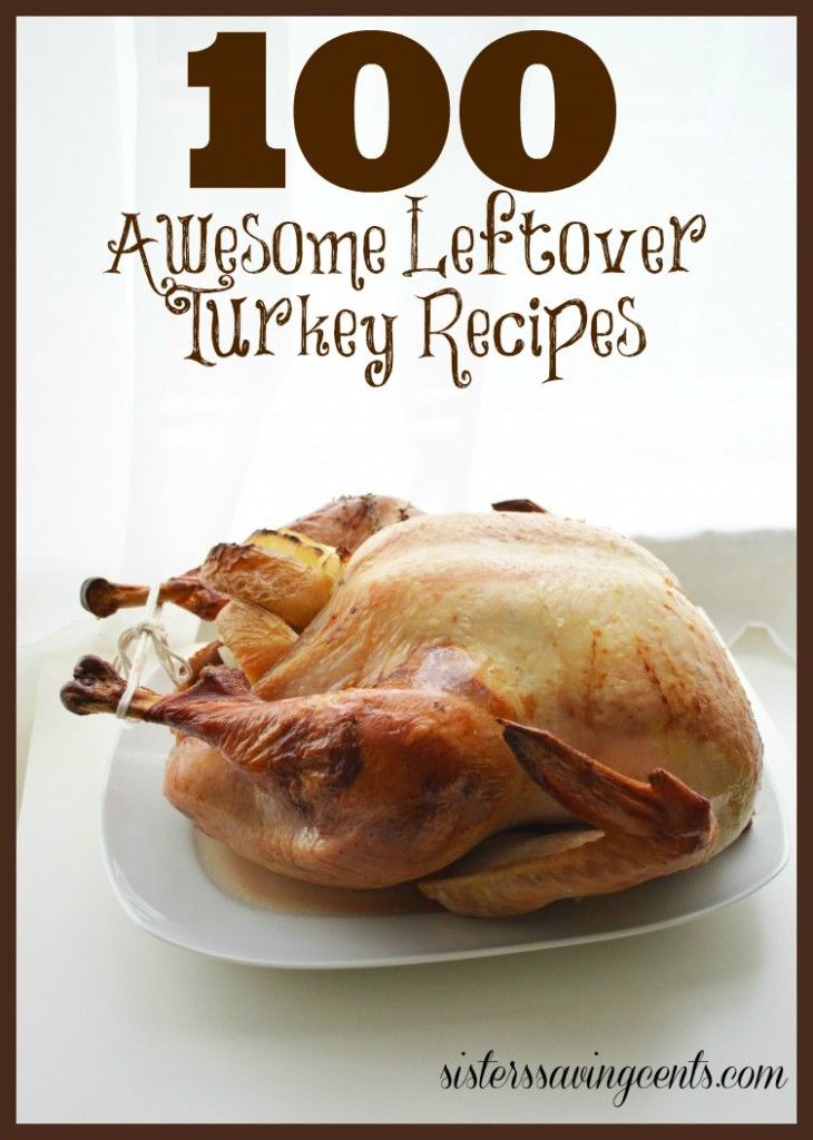100 leftover turkey recipes