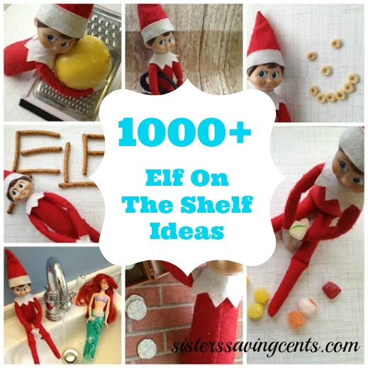 1000 elf on the shelf ideas