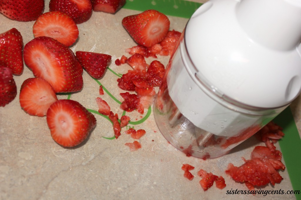 strawberry jam diced strawberries