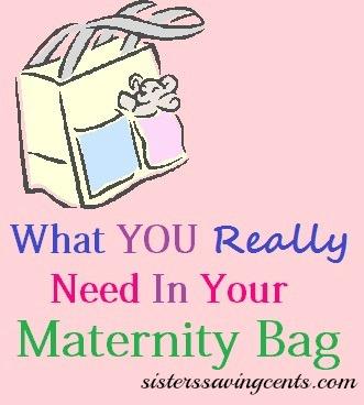 WhatYouReallyNeedInMaternityBag